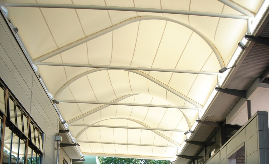 Tensile Fabric Roof Structure Gurgaon Tensile Atrium