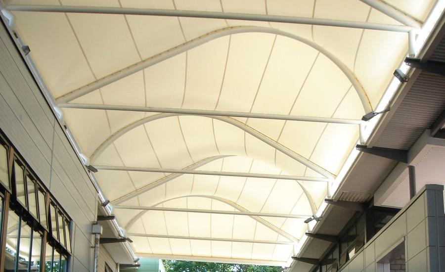 Tensile Fabric Roof Structure Gurgaon Tensile Atrium